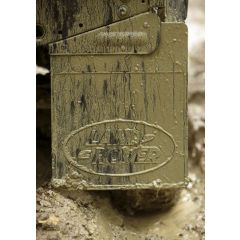 LR055332 - Rear Right Hand Defender 90 Mudflap with Land Rover Logo