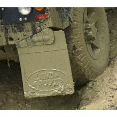 LR055330 - Rear Right Hand Defender 110 Mudflap with Land Rover Logo