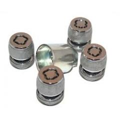 LR037026 - Freelander 2, Evoque and Discovery Sport Alloy Locking Wheel Nut Set in Chrome
