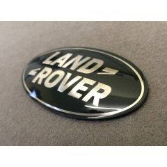 LR053190 - Brand New Green and Silver Oval Badge - (For Use On Grille Of Vehicles - NOT DISCOVERY 4)
