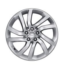 LR082901 - Discovery 5 Style '5011' Wheel with 5 Split Spoke Design - Genuine Land Rover - 22 x 9.5 Finished in Aero Silver Sparkle