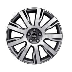 LR081583 - Discovery 5 Style '9002' Wheel with 10 Spoke Design - Genuine Land Rover - 21 x 9.5 Finished in Diamond Turned