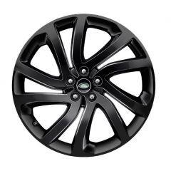 LR082900 - Discovery 5 Style '5011' Wheel with 5 Split Spoke Design - Genuine Land Rover - 22 x 9.5 Finished in Gloss Black