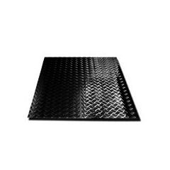 LR134B-3 - Chequer Plate For Defender 110 (5-Door) Station Wagon Load Area Floor 3mm Black