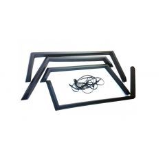 """LR203 - Wheel Arch Kit for Land Rover Series - Lightweight / Military - 50"""" Wide Wheel Arches as a Set of Four in ABS Plastic"""