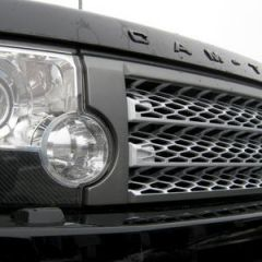 LR3G509SG - Discovery 3 Supercharged Style Grille In Grey and Silver - OEM Style Colour Scheme