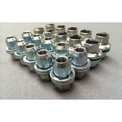 LR410 - Set of 20 Alloy Wheel Nuts - For Range Rover L322 (from 2006), Range Rover Sport and Discovery 3 and 4