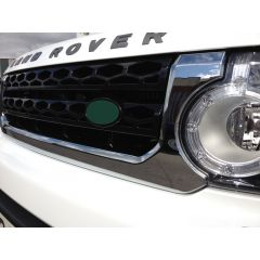 LR4G614 - Discovery 4 Front Grille In Chrome And Black - Fits up to 2014 (Doesn't fit Facelift)