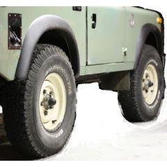 LR55 - Set of Four Wheel Arches for Land Rover Series - Two Door Only - Wheel Arch Kit in ABS Plastic