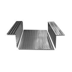LR84-3 - Load Area In Chequer Plate - For Defender 90 - 3mm Aluminium Finish
