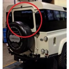 LRC1121 - Tinted Rear Window - For Land Rover Defender 90 and 110 Vehicles (Non Heated)