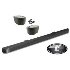 LRC1125 - Front Bumper and End Cap Kit for Land Rover Defender - Comes Complete with Two End Caps and Clips