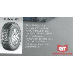 LRC2073 - General Grabber AT3 All Terrain Tyre - 255 / 50 R 20