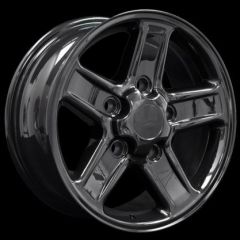 """LRC5001 - Defender 18"""" Boost Alloy In Gloss Black - Will Fit Defender, Discovery 1 and Range Rover Classic"""