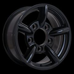 LRC5025 - Defender Challanger Alloy In Black - 16 x 7 - Will Fit Defender, Discovery 1 and Range Rover Classic