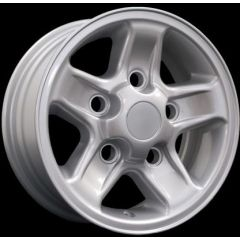 """LRC5028 - Defender 18"""" Boost Alloy In Silver - Will Fit Defender, Discovery 1 and Range Rover Classic"""