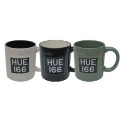 LRCEAHUEG - Land Rover Mug in Green - Taking Inspiration from the Original Licence Plate of the Series I, the HUE 166