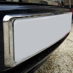 NPS040 - Chrome Front Number Plate Plinth