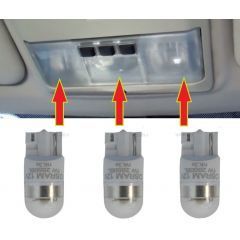 ORB184-W - LED Interior Light Upgrade Kit for Range Rover Sport Roof Console - Comes as 3 Bulbs