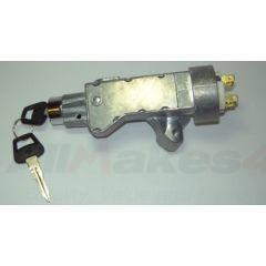 QRF100880 - Defender Steering Lock, Barrel and Key - Ignition Barrel for Defender 200TDI, 300TDI and TD5