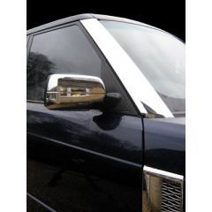 RRA783 - Chrome A Pillar for Range Rover L322 - Windscreen Pillar Covers In Chrome