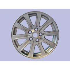 "RRC505360MNH - 10 - Spoke Alloy Wheel in Silver Sparkle Finish - 18"" x 8 - For Range Rover Sport and Discovery 3 and 4"