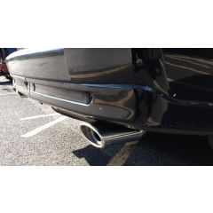 RRE600 - Twin Exhaust Tail Pipe Tips Pair in Polished Stainless for LRParts - A Great Upgrade for Range Rover Sport