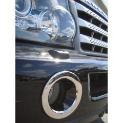 RRF547 - Range Rover Sport Fog Lamp Surrounds In Chrome (Covers the Front Facia of the Fog Lamp)