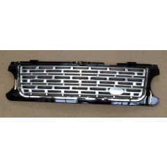 RRG120 - Range Rover L322 Grille Black / Silver / Chrome in L405 Style  - (For 2006-2009) - Looks Like Brand New Autobiography Vehicle
