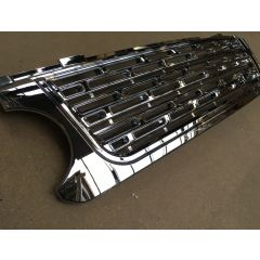 RRG124 - Range Rover L322 Grille Chrome / Chrome / Chrome in L405 Style  - (For 2006-2009) - Looks Like Brand New Autobiography Vehicle