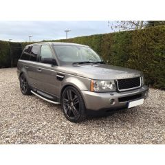 RRG195 - Range Rover Sport 2012 Autobiography Style Grille and Side Vents in Black / Silver / Black