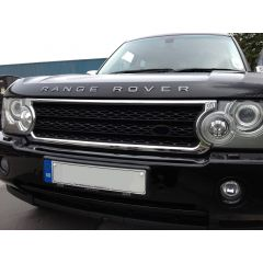 RRG212 - Range Rover L322 Supercharged Grille In Chrome With Black Matt Mesh  (For 2006-2009)