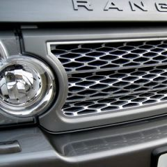 RRG213 - Range Rover L322 Supercharged Grille In Grey with Silver Mesh  (For 2006-2009)
