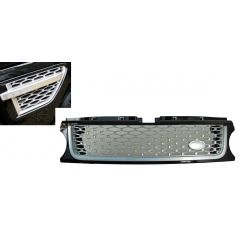 RRG285 - Range Rover Sport Autobiography Grille and Side Vent Kit In Black / Silver / Silver - For 2009 - 2013 Range Rover Sport