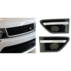 RRG290 - Range Rover Sport Autobiography Grille and Side Vent Kit In Grey / Silver / Black - For 2009 On Range Rover Sport