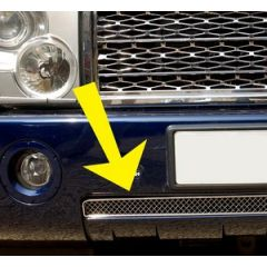 RRG294SS - Range Rover L322 Lower Mesh Grille - In Stainless Steel - For 2002-2006