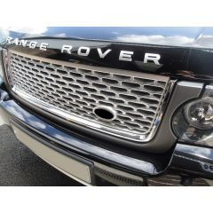RRG830GSC - Autobiography Grille For Range Rover Vogue 2010 Onwards In Grey Silver With Chrome Trim