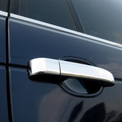 RRH503 - Chrome Door Handle Covers for Range Rover L322 - With Cut Out For Key