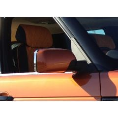 RRM277 - Chrome Door Mirror Surrounds (Comes as a Pair) - For 2002-2005 Range Rover L322