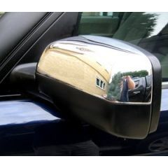 RRM348BC - Facelift Appearance Mirror Covers In Black & Chrome (Comes as a Pair) - For 2002-2005 Range Rover L322