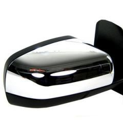 RRM830 - Upper Mirror Caps In Chrome (Pair) - For Late Range Rover Sport, Discovery 4 and Late Freelander 2