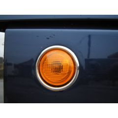 RRR505 - Side Repeater Surrounds In Chrome for Range Rover L322