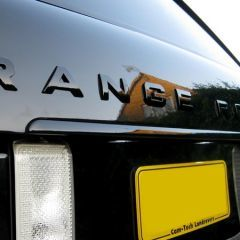 RRT516BLK - Range Rover L322 Black Gloss Tailgate Trim Strip