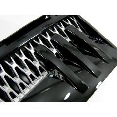 RRV010BS - Range Rover 2012 Style Side Vents - In Black and Silver