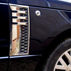 RRV010CH - Range Rover 2012 Style Side Vents - In Full Chrome