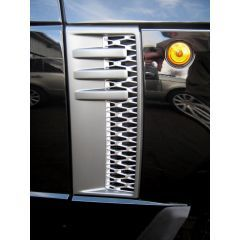 RRV010SG - Range Rover 2012 Style Side Vents - With Grey And Silver