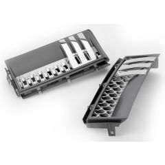 RRV010GSC - Range Rover 2012 AUTOBIOGRAPHY Side Vents - In Grey, Silver And Chrome