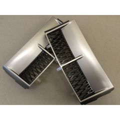 RRV058GB - Range Rover L322 Supercharged Side Vents - Grey with Black Mesh