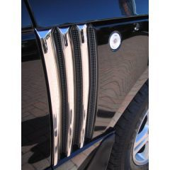 RRV519 - Chrome Triple Side Vent Covers for Range Rover L322