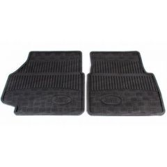 RTC8098AB - Defender Front Rubber Mat Set - Genuine Land Rover (FOR VEHICLES FROM 1984-1998)